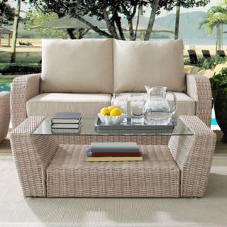 Crosley Furniture St. Augustine Patio Wicker Coffee Table