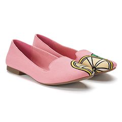 SO® Anchovy Women's Lemon Ballet Flats