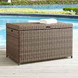 Crosley Furniture Bradenton Patio Wicker Storage Bin