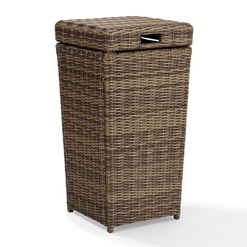 Crosley Furniture Bradenton Patio Trash Can