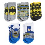 Boys 4-20 Batman 5-Pack Socks