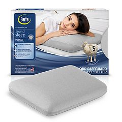 Serta Sound Sleep Anti-Microbial Gel Memory Foam Pillow
