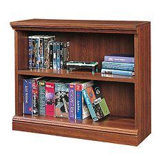 Sauder 2-Shelf Bookcase - Cherry