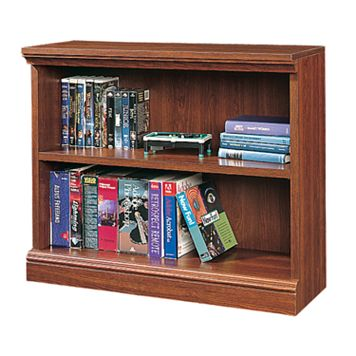 Sauder 2-Shelf Bookcase - Cherry