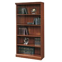 Sauder 5-Shelf Bookcase - Cherry