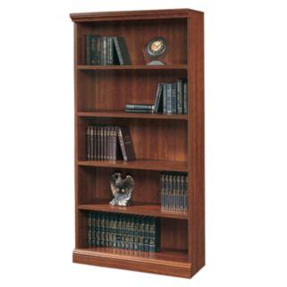 Sauder 5-Shelf Bookcase - Cherry