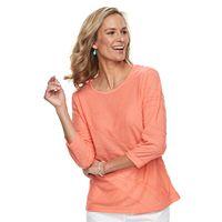 Women's Cathy Daniels Textured Tunic Top