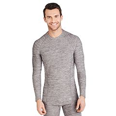 e7c8d73a7ad70 Men s Climatesmart by Cuddl Duds® Climate Sport Medium Weight Performance  Base Layer Crewneck Top
