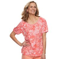 Women's Cathy Daniels Embellished Floral Top