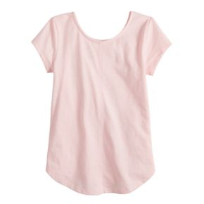 Girls 4-12 SONOMA Goods for Life? Shirttail-Hem Graphic Tee