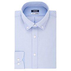 Men's IZOD Slim-Fit Button-Down Collar Wrinkle-Free Dress Shirt