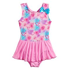 Girls 4-14 JoJo Siwa Gradient Hearts Dance Skirtall Leotard by Danskin