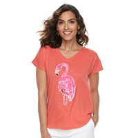 Women's Caribbean Joe Graphic Tee