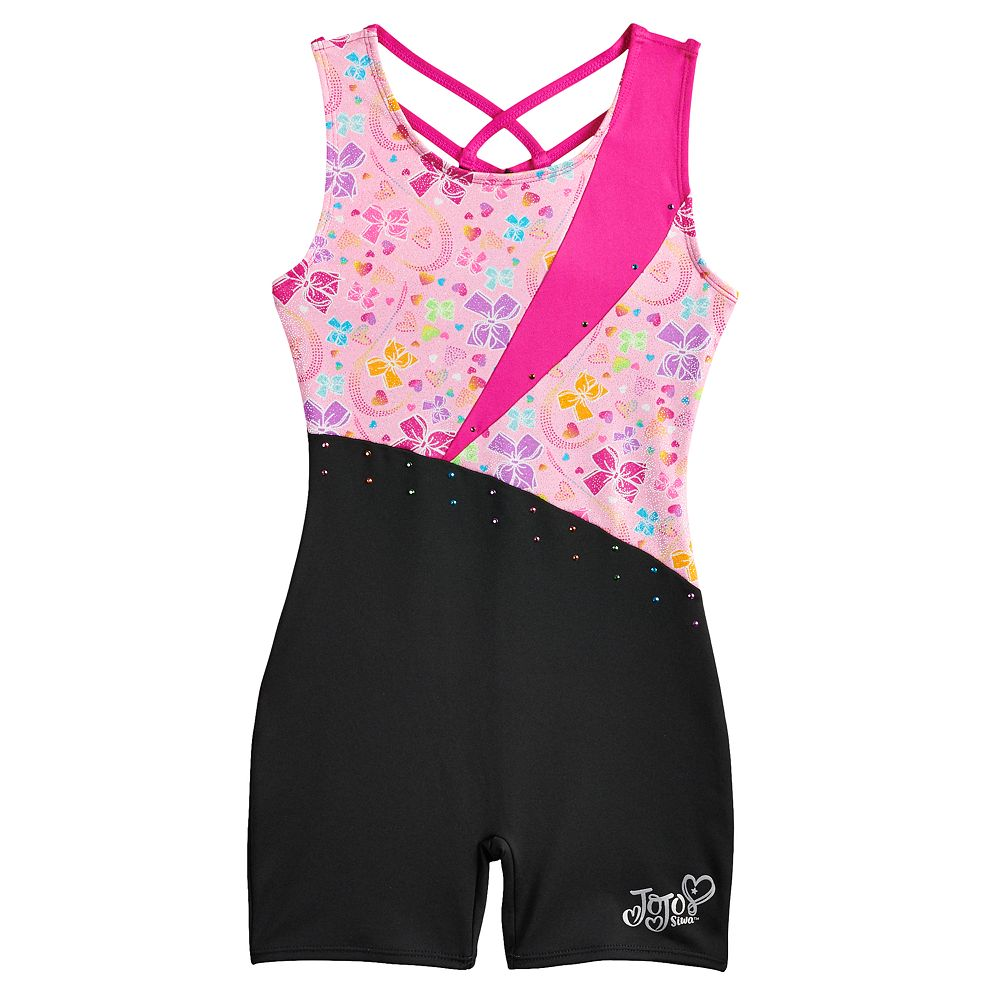 Girls 4-14 JoJo Siwa Pretty Bows Dance Biketard by Danskin