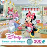 Disney's Disney Friends Café 200-Piece Daisy and Minnie Puzzle by Ceaco