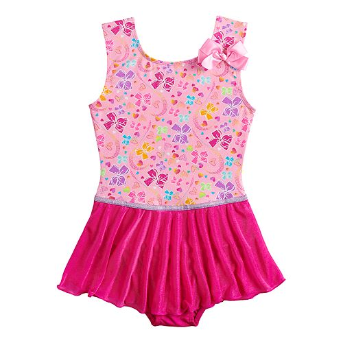 Girls 4-14 JoJo Siwa Pretty Bows Dance Skirtall Leotard by Danskin