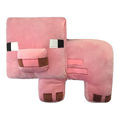 Minecraft Pig Plush Pillow Buddy