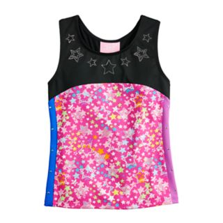 Girls 4-14 JoJo Siwa by Danskin Sparkle Star Dance Top