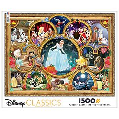 Disney's 1500-Piece Classic Collage Puzzle by Ceaco
