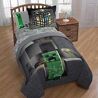 Minecraft Spawn Twin Comforter