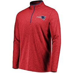 Men's New England Patriots Grid Tex Pullover