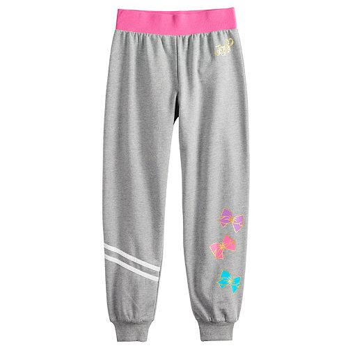 Girls 4-14 JoJo Siwa Fitted Jogger Pants