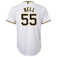 Boys 8-20 Pittsburgh Pirates Josh Bell Replica Jersey