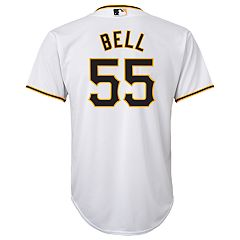 Boys 8-20 Pittsburgh Pirates Josh Bell Replica Jersey