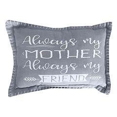 Park B. Smith ''My Mother, My Friend'' Oblong Throw Pillow