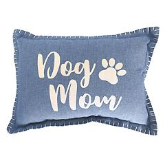 Park B. Smith ''Dog Mom'' Oblong Throw Pillow
