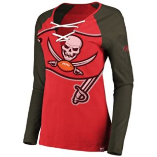 Women's Tampa Bay Buccaneers The Lace Up Tee