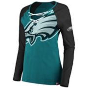 Women's Philadelphia Eagles The Lace Up Tee