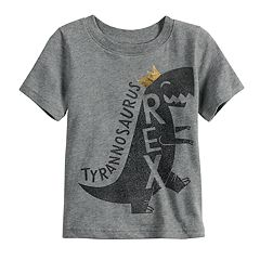 Toddler Boy Jumping Beans® Tyrannosaurus Rex Softest Graphic Tee