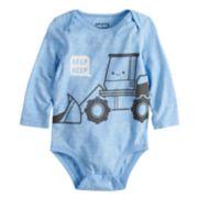 "Baby Boy Jumping Beans®  ""Beep Beep"" Construction Truck Bodysuit"