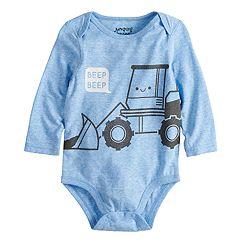 Baby Boy Jumping Beans®  'Beep Beep' Construction Truck Bodysuit