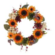 SONOMA Goods for Life? Artificial Sunflower Wreath