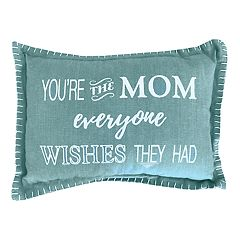 Park B. Smith ''You're the Mom'' Oblong Throw Pillow