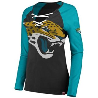 Women's Jacksonville Jaguars The Lace Up Tee