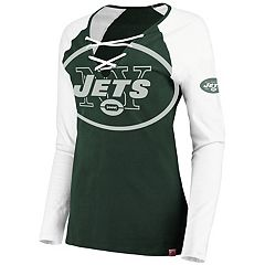 Women's New York Jets The Lace Up Tee