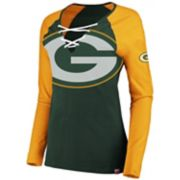 Women's Green Bay Packers The Lace Up Tee