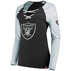 Women's Oakland Raiders The Lace Up Tee