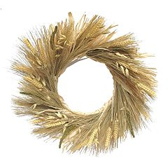 SONOMA Goods for Life™ Artificial Wheat Wreath