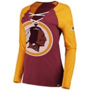 Women's Washington Redskins The Lace Up Tee
