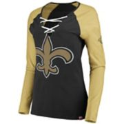 Women's New Orleans Saints The Lace Up Tee