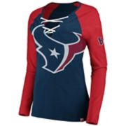 Women's Houston Texans The Lace Up Tee