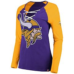 Women's Minnesota Vikings The Lace Up Tee