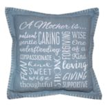 Park B. Smith ''A Mother Is'' Throw Pillow