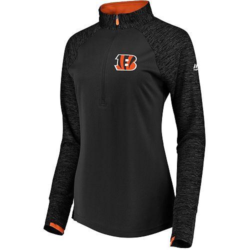 Women's Cincinnati Bengals Ultra Streak Pullover