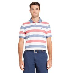 Big & Tall IZOD SportFlex Classic-Fit Striped Stretch Performance Polo