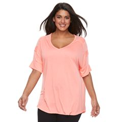 Plus Size French Laundry Mesh Top